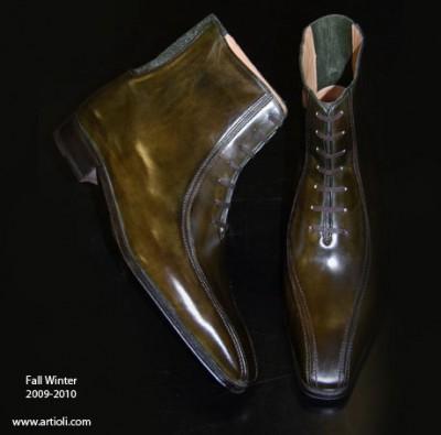 Vito Artioli, shoe maker