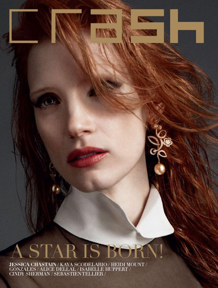 jessica chastain crash magazine stephanie bui editor