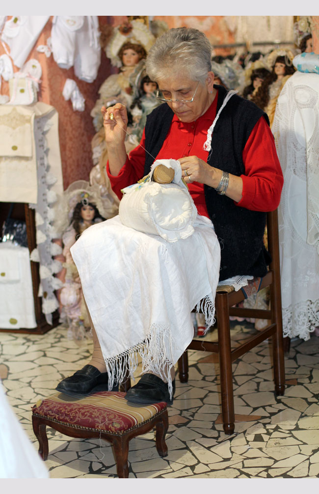 Lacemaking Burano Venice